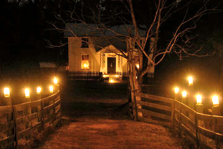 Duke Homestead Candlelight Tour
